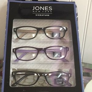 Jones New York Reading Glasses +2.50